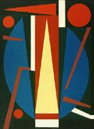 Germe 1954 By Auguste Herbin