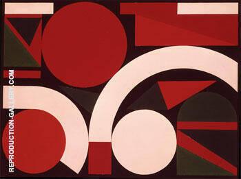 Bond 1958 By Auguste Herbin