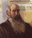 Self Portrait 1873 By Camille Pissarro