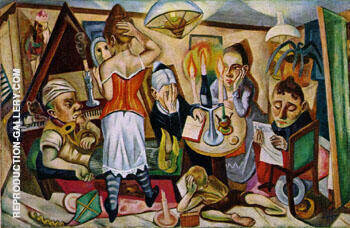 The Family 1920 By Max Beckmann
