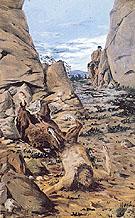 The Dying Centaur 1909 By Giorgio de Chirico