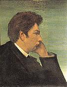 Self Portrait 1911 By Giorgio de Chirico