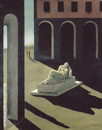Reproduction of Solitude 1912 by Giorgio de Chirico | Oil Painting Replica On CanvasReproduction Gallery