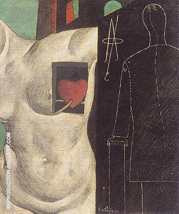 I ll be There The Glass Dog 1914 By Giorgio de Chirico - Oil Paintings & Art Reproductions - Reproduction Gallery