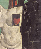 I'll be There The Glass Dog 1914 By Giorgio de Chirico