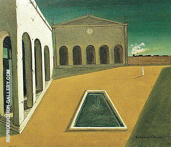 Reproduction of The Delights of The Poet 1912 by Giorgio de Chirico | Oil Painting Replica On CanvasReproduction Gallery
