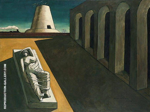 Reproduction of Ariadne 1913 by Giorgio de Chirico | Oil Painting Replica On CanvasReproduction Gallery