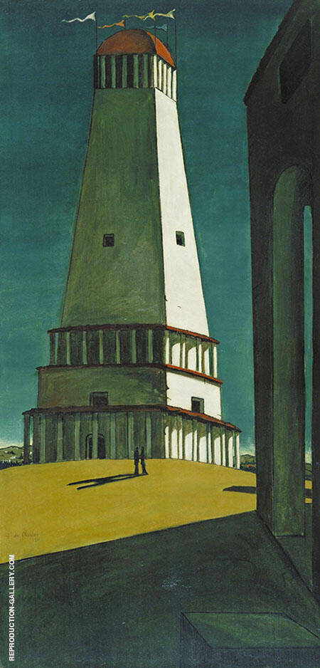 The Nostalgia of the Infinite 1912 By Giorgio de Chirico - Oil Paintings & Art Reproductions - Reproduction Gallery