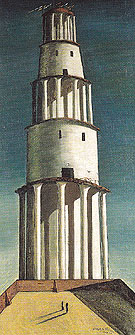 The Great Tower 1913 By Giorgio de Chirico