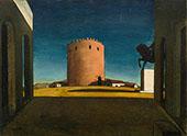 The Red Tower 1913 By Giorgio de Chirico