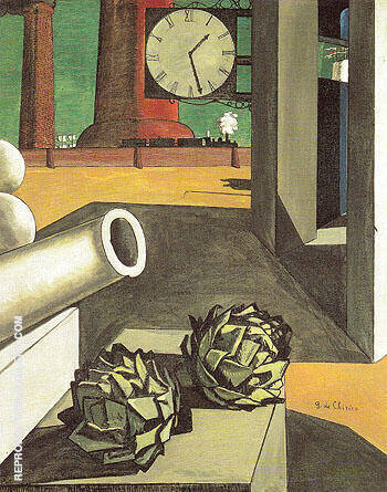 The Philosophers Conquest 1914 By Giorgio de Chirico - Oil Paintings & Art Reproductions - Reproduction Gallery