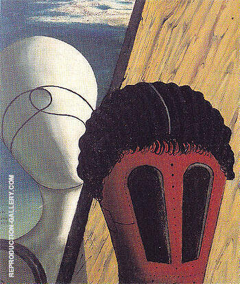 The Two Sisters 1915 By Giorgio de Chirico - Oil Paintings & Art Reproductions - Reproduction Gallery