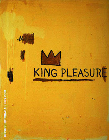 King of Pleasure By Jean-Michel-Basquiat