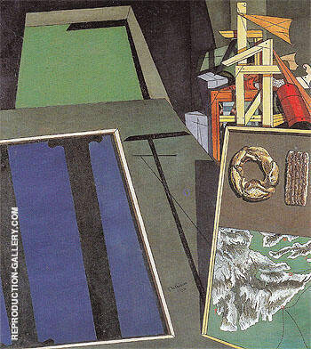 The Melancholy of Departure 1916 By Giorgio de Chirico - Oil Paintings & Art Reproductions - Reproduction Gallery