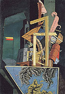The Melancholy of Departure 1916 By Giorgio de Chirico