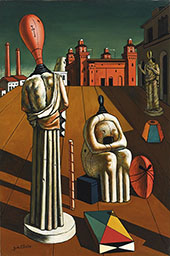 The Disquieting Muses 1918 By Giorgio de Chirico