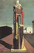 The Great Metaphysician 1917 By Giorgio de Chirico