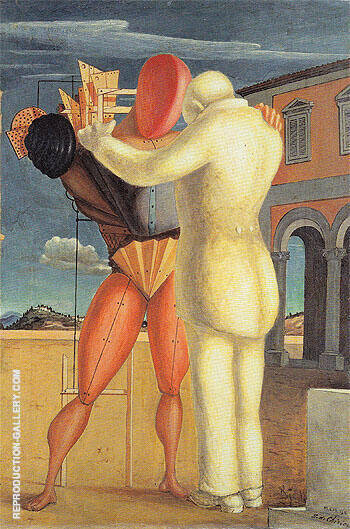Reproduction of The Prodigal Son 1922 by Giorgio de Chirico | Oil Painting Replica On CanvasReproduction Gallery