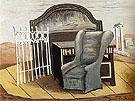 Furniture in The Valley 1927 By Giorgio de Chirico