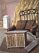 Furniture in a Room 1927 By Giorgio de Chirico