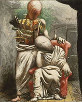 The Poet and his Muse 1925 By Giorgio de Chirico
