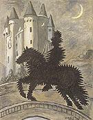Return to The Castle 1969 By Giorgio de Chirico