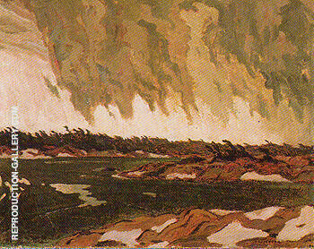 March Storm Georgian Bay 1920 Painting By A Y Jackson