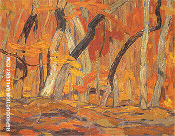 Maple Woods Algoma 1920 By A Y Jackson