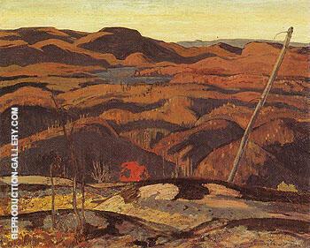 Algoma Rocks Autumn 1923 By A Y Jackson