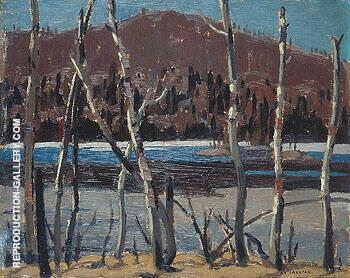 A Beaver Lake 1921 By A Y Jackson