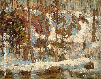 Algonquin Spring 1914 By A Y Jackson - Oil Paintings & Art Reproductions - Reproduction Gallery