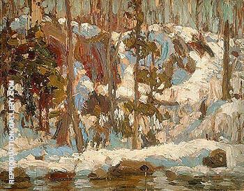 Algonquin Spring 1914 By A Y Jackson
