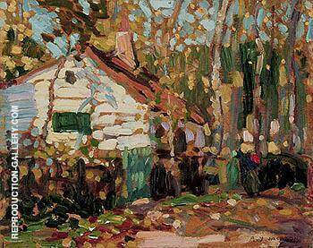 Autumn in Picardy 1912 By A Y Jackson Replica Paintings on Canvas - Reproduction Gallery