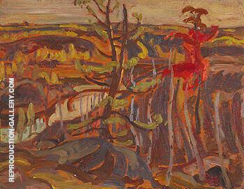 Autumn Muskosh River 1939 By A Y Jackson