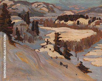Baie Saint Paul 1923 By A Y Jackson