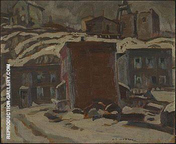 Cobalt Ontario 1932 By A Y Jackson