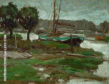 Dordrecht 1909 By A Y Jackson