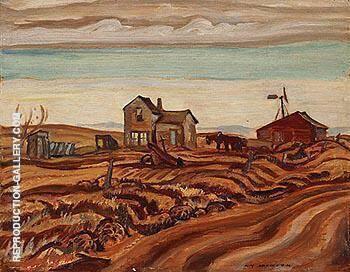 Drought Area Alberta 1937 By A Y Jackson