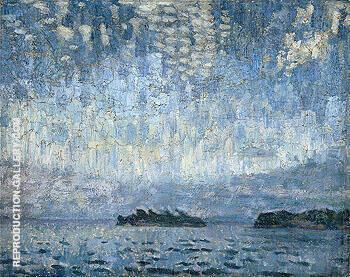 Evening Georgian Bay c1905 By A Y Jackson