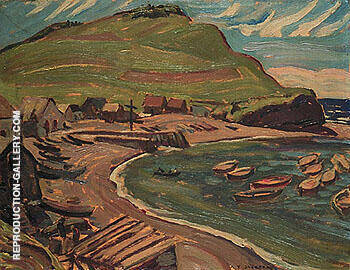 Fox River Gaspe1936 I By A Y Jackson