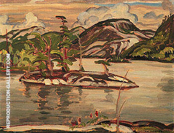 Grace Lake Algoma 1939 I Painting By A Y Jackson - Reproduction Gallery