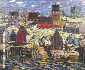 Herring Cove Nova Scotia 1919 Painting By A Y Jackson