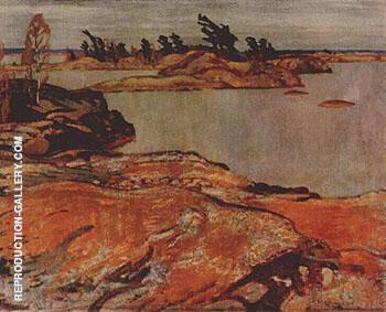 Georgian Bay November By A Y Jackson