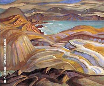 Abrador Coast 1930 By A Y Jackson