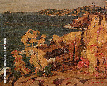Lake Superior 1922 By A Y Jackson - Oil Paintings & Art Reproductions - Reproduction Gallery