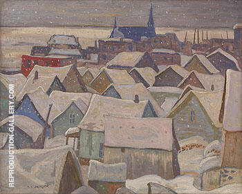 La Malbaie Quebec 1935 By A Y Jackson - Oil Paintings & Art Reproductions - Reproduction Gallery