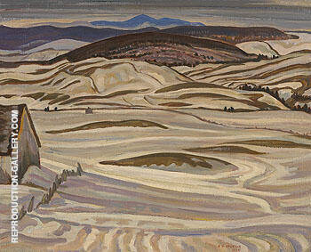 Late Winter Laurentians 1935 By A Y Jackson