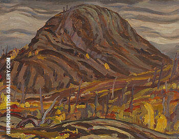 Mountain Landscape 1938 By A Y Jackson - Oil Paintings & Art Reproductions - Reproduction Gallery