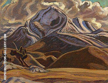 Mountain Landscape 1937 By A Y Jackson - Oil Paintings & Art Reproductions - Reproduction Gallery