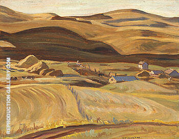 Porcupine Hills Alberta 1937 By A Y Jackson Replica Paintings on Canvas - Reproduction Gallery